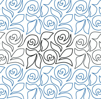 "Rose Garden - Paper - 6"" QC-AM-RG"