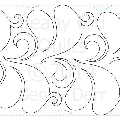 "Fluttering Feathers - Paper -11"" W1-BG-FF"