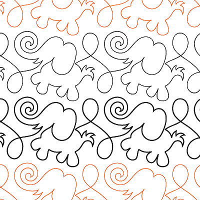 Animal Crackers Elephant Border - Digital UE-ACE-BDR_DIGITAL