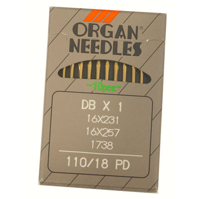Organ Titanium Needles-110/18 OR-135x17