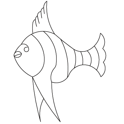 Fish Single - Digital CC-840_DIGITAL