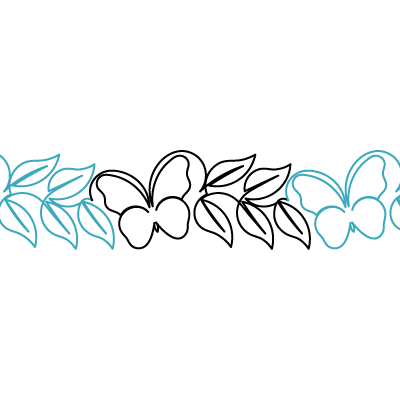 Butterfly Leaf Border - Digital DBD-BL-BDR_Digital