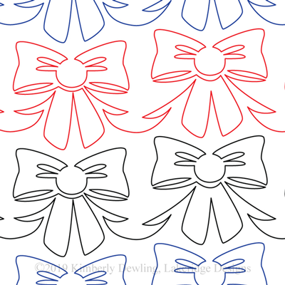 "Bow-Datious - Paper - 5"" W10-KD-BW"
