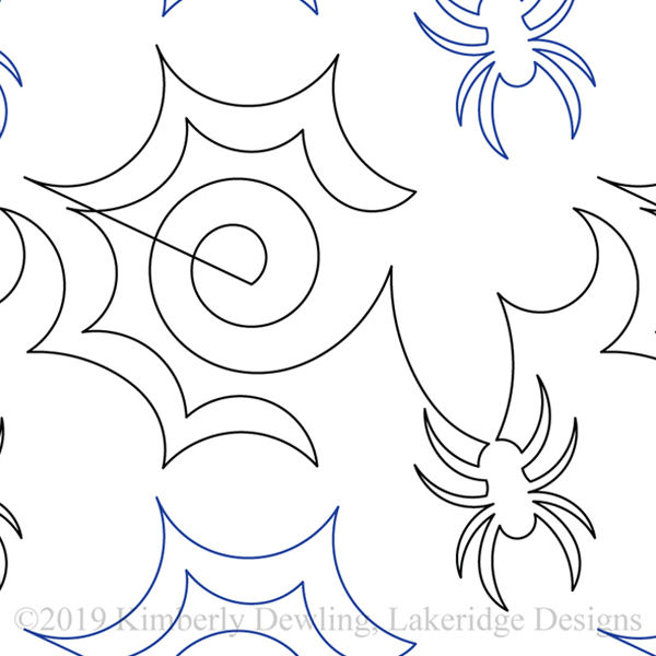 "Creepy Crawly - Paper - 10"" W10-KD-CR"