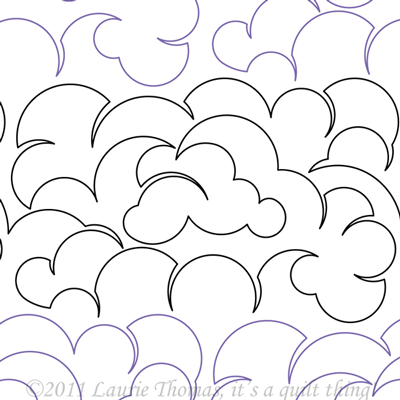 "Cloud 2- Paper - 9"" W9-IQT-Cl"
