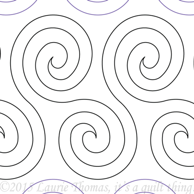 "Spiral Play- Paper - 10"" W9-IQT-SP"