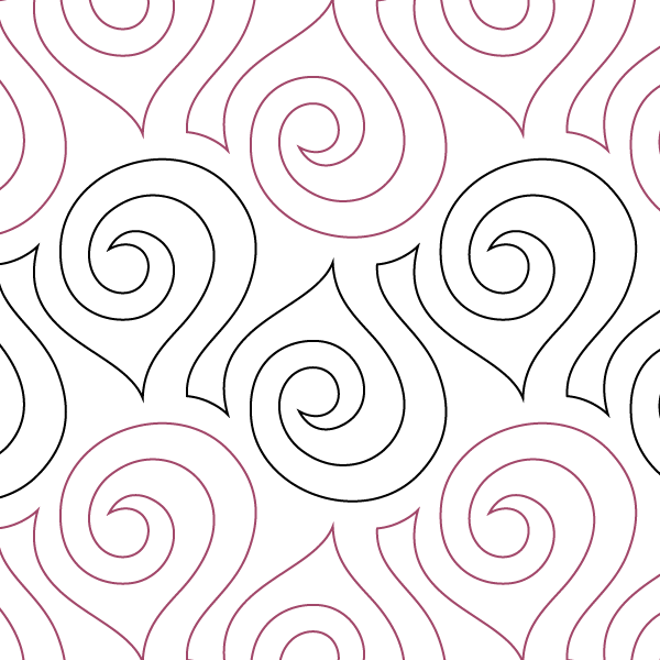"Seaside Swirl- Paper - 6.25"" U10-SAM-SES"