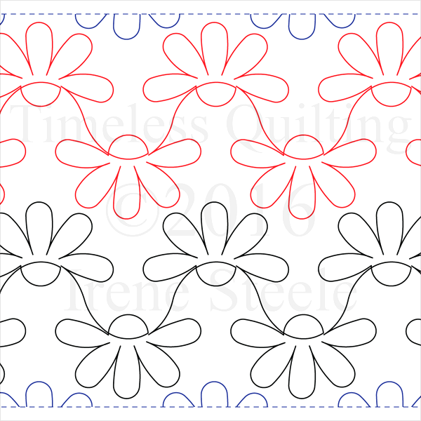 "Little Daisy Chain- Paper - 7"" W4-T-LDC"