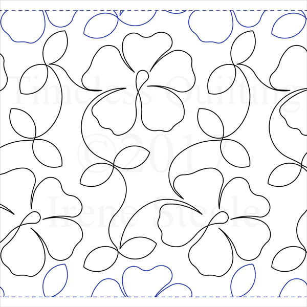 "Summer Bloom - Paper -12"" W4-T-SB-LG"