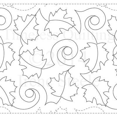 "Timeless Maple Leaf- Paper -13"" W4-T-TML"