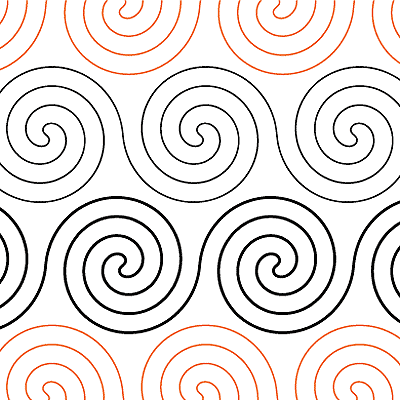 "Spirals - Paper - 4"" U7-RS-SP"